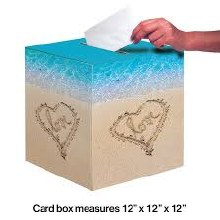 Beach Love Card Box