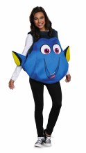 Dory Fish Adult One Size