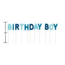 Candle Birthday Boy