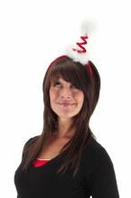 Springy Santa Hat Headband