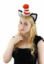 Cat in the Hat Headband w/Ears