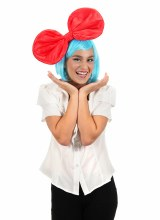 Bow Oversized Anime Red