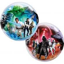 "Star Wars BUBBLE Light/Dark ~ 22"""