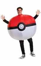 Poke Ball Inflatable Adult One Size