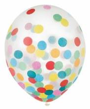 Balloons w/ Confetti Multi