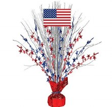 Centerpiece Spray Patriotic Lg