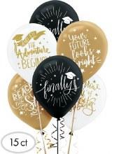 Graduation Balloon Bundle ~ 15 Balloons