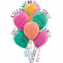 Young and Fab Balloon Decor