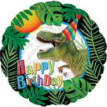 T-Rex Dinosaur Party Hat Happy Birthday ~ 17""