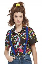 80's Paint Splatter Shirt L