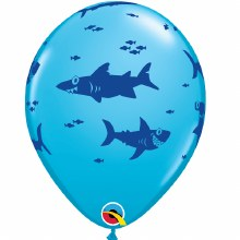 "Fun Sharks ~ BLUE ROBINS EGG ~ 11"""