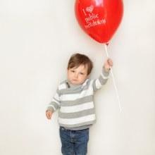 "Little Jerk 11"" Balloon ~ I (Heart) Public Meltdowns"