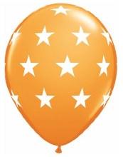 """Big Stars ORANGE ~ Matte Finish 11"""""""