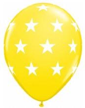 """Big Stars YELLOW ~ Matte Finish 11"""""""