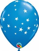 """Contempo Stars DARK BLUE ~ Matte Finish 11"""""""