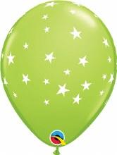 """Contempo Stars LIME GREEN ~ Matte Finish 11"""""""