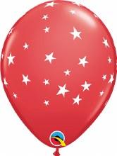 """Contempo Stars RED ~ Matte Finish 11"""""""