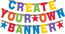 Banner Letter Custom