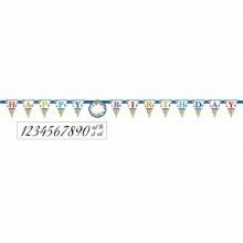 Bright Birthday Age Banner