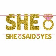 She Said Yes Banner