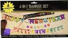 News Years Banner Set
