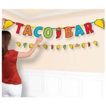 Taco Bar Banner Kit