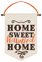 Banner Home Sweet Haunted