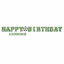 Soccer Add an Age Bday Banner