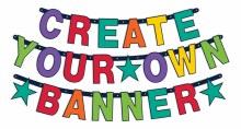 Bday Rainbow Custom Banner