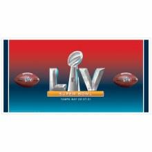 2021 Super Bowl Plastic Giant Banner
