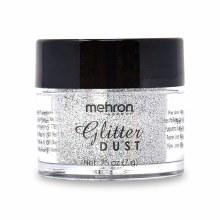 Glitter Dust Silver Hologram