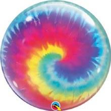 Bubble Blln Tie Dye 22in