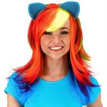 Wig Rainbow Dash W/ Ears
