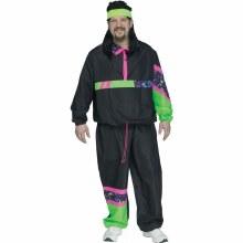 80's Track Suit Adult Plue