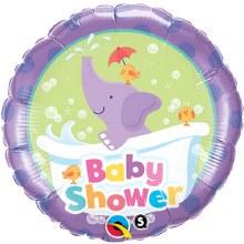 MYLR Baby Shower Elephant 18in