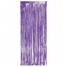 Door Fringe Purple Foil