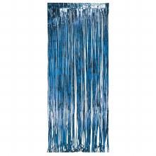 Door Fringe Blue Foil