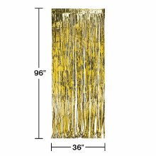 Door Fringe Gold Foil