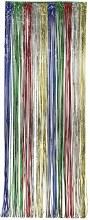 Door Fringe Multi Color Foil