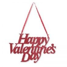 Valentines Glitter Sign