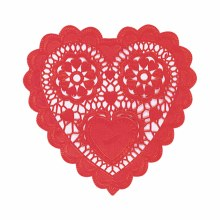 Doilies Red Heart 3.5in