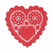 Doilies Red Heart 6in