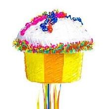 Pinata Cupcake Pull