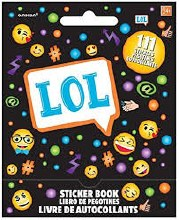 LOL Emoji Sticker Book