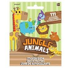 Jungle Animals Sticker Book