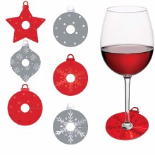 Ornament Cocktail Tags