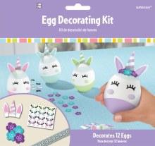 Egg Decorating Kit Unicorn