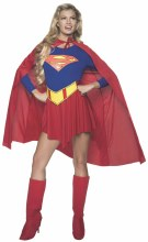 Supergirl Adult Medium