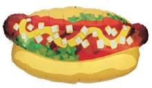 """Jumbo Cartoon Hot Dog ~ 32"""""""