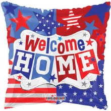 """Patriotic Welcome Home ~ 18"""""""